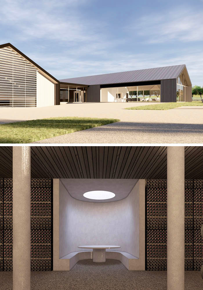 Designcubed Architects Winery Concept 2a