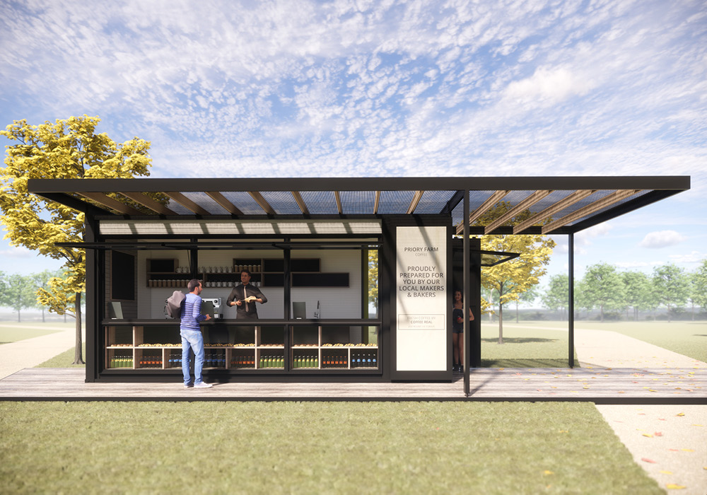 Designcubed Architects Container Cafe