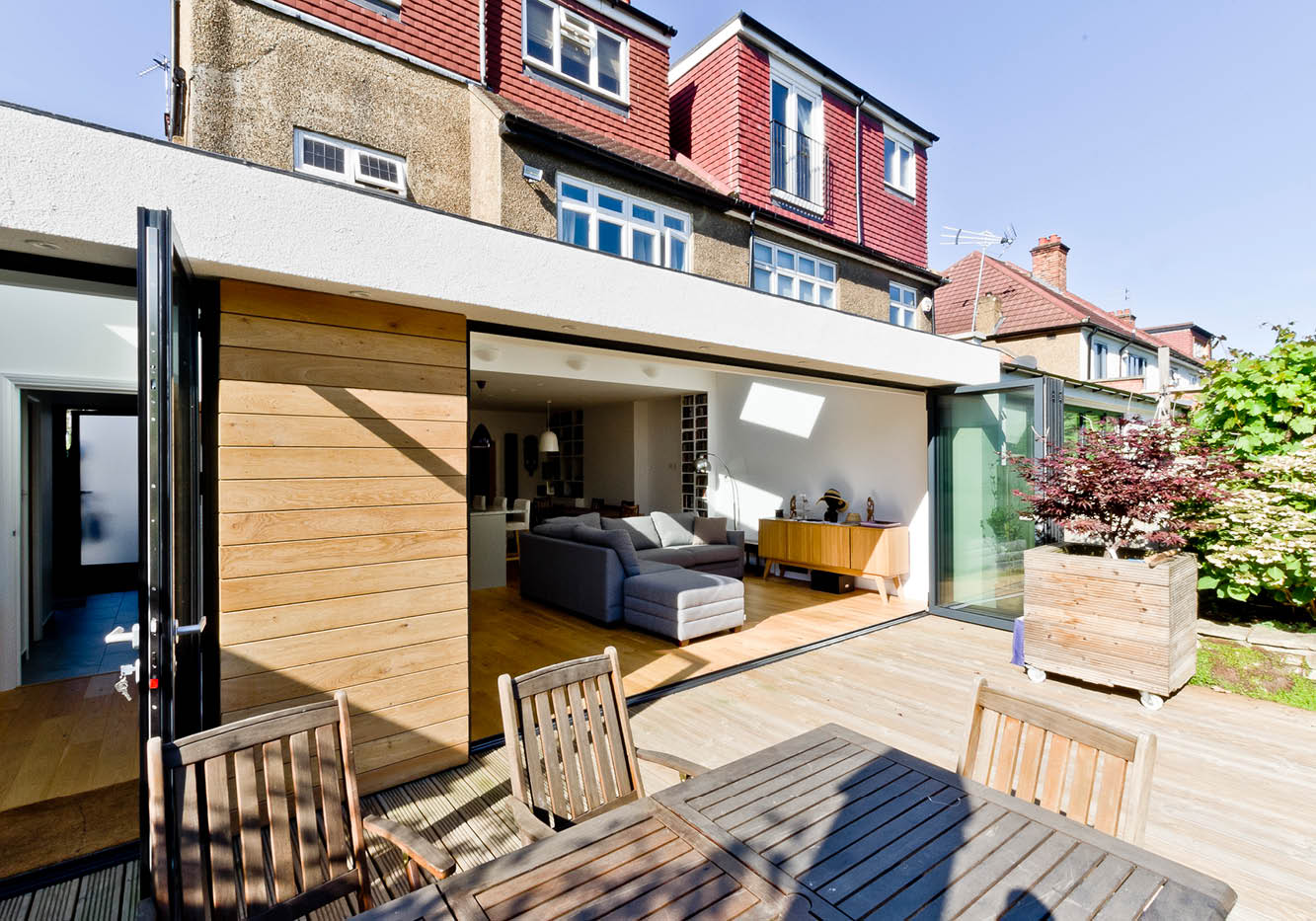 Designcubed Architects East Dulwich Dovedale road extension 1
