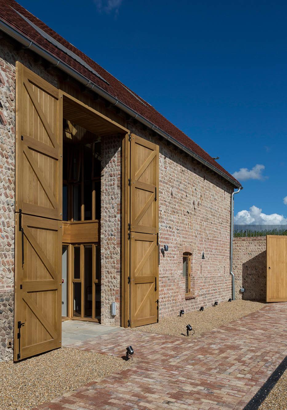 Designcubed Architects Flint Barn 16