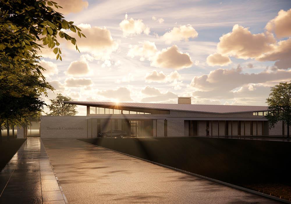 Designcubed Architects Thurrock Crematorium