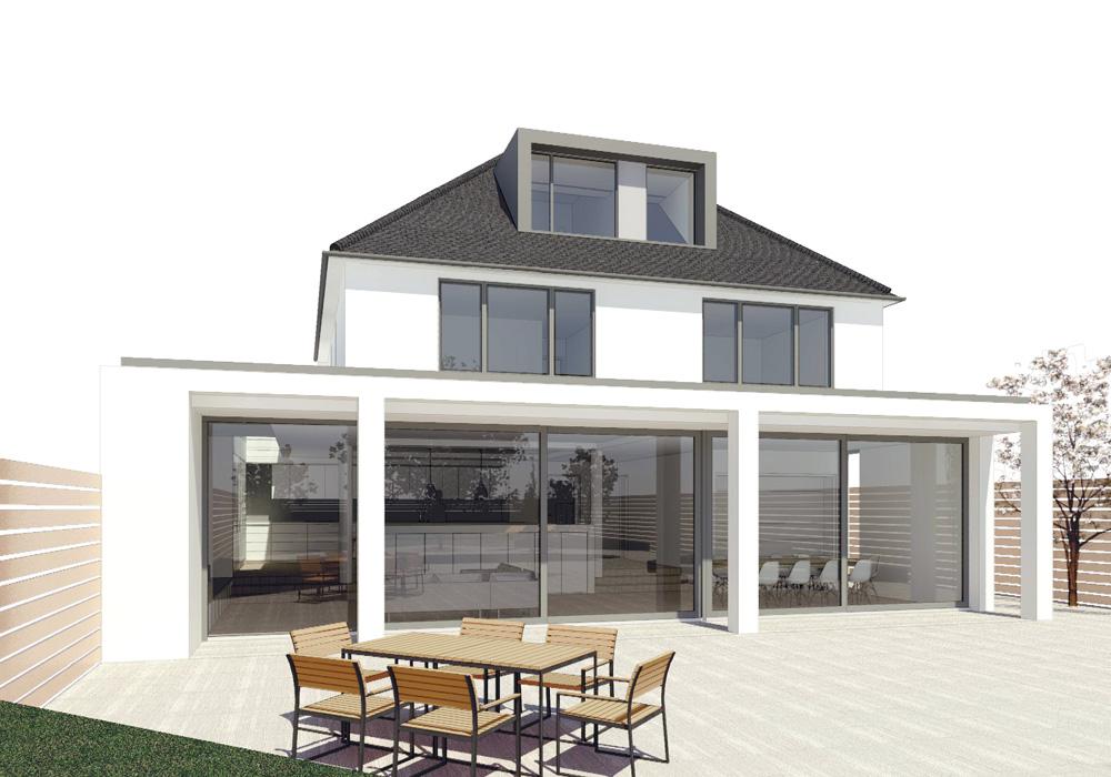 dc l news bushey way exterior planning